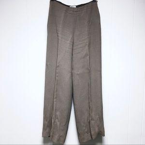 ANN TAYLOR LOFT Vtg Pants Slacks Trousers Cream